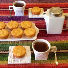 Muffins de mandarina  sin tacc / sin gluten / glutenfree