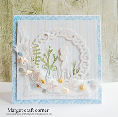 August 2015 New Release Day 3! From our Design Team! Card by Małgorzata Dudzińska featuring these NEW Dies - Under the Sea (Set of 9), Koi Circle (Set of 3), Seaweed border, Seaweed (Set of 3) :-) Shop for our NEW products here - shop.lalalandcrafts.com More Design Team inspiration here - http://lalalandcrafts.blogspot.ie/2015/08/new-release-showcase-august-2015-day-3.html