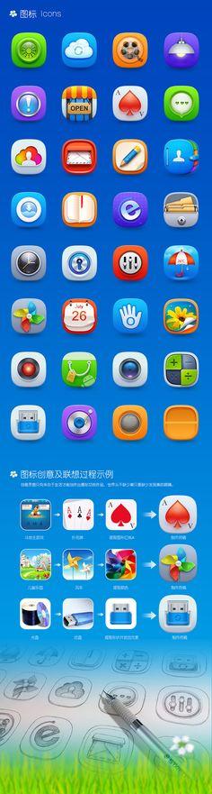 查看《 《春意》手机主题》原图,原图尺寸... Typo Design, Typography Design, Icon Design, Web Design, Graphic Design, Mobile Icon, Flat Icons, Icon Pack, App Icon