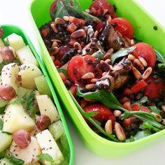 Les p'tits plaisirs d'Emma: Dans ma lunchbox - Salade de lentille