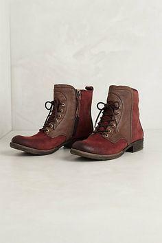 Cordovan mountaineer boots - anthropologie