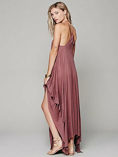 Free People Heart Strings Lace Up Dress