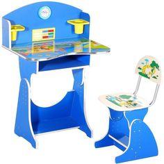 Children Desk Design: Children's Desk Blue Design ~ Furniture Inspiration Home Furniture, Furniture Design, Childrens Desk, Student Desks, Good Student, Kid Desk, Blue Design, Furniture Inspiration, Interior Decorating