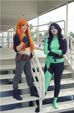 Pin for Later: 31 Insanely Ingenious DIY Costumes For BFFs Kim Possible and Shego
