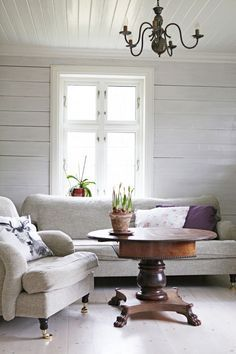 Cottage Living, My Living Room, Cottage Style, Living Spaces, Farmhouse Style, Shabby Chic, Cozy Place, Living Room Inspiration, Great Rooms