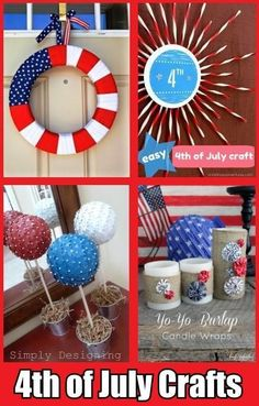 10 Fun Fourth of July Crafts/ tie dye firecracker shirts July Crafts, Summer Crafts, Holiday Crafts, Crafts For Kids, Holiday Ideas, Crafts Cheap, Cheap Holiday, 4th Of July Party, Fourth Of July