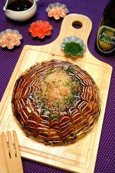 炊飯器で温玉乗せ餅チーズお好み焼き☆ふんわりもっちり|レシピブログ
