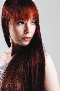 Johanna Kurkela and her gorgeous red hair <3
