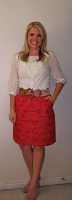 Teacher clothes blog. Might be a good one to look at for office appropriate attire too:)