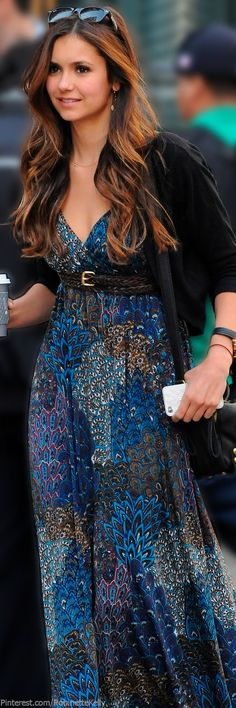 Street Style | Paisley Maxi CLICK THE PIC and Learn how you can EARN MONEY while still having fun on Pinterest