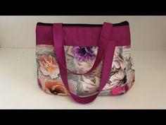Coudre un petit sac à main arrondi Tuto couture Madalena - YouTube