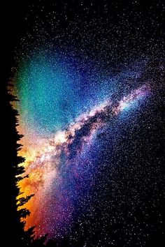 beauty light life Cool beautiful sky wonderful trees night galaxy stars crazy dark wow nature colour forest mind amazing universe wonder color milky way science Whoa knowledge cosmic contrast Cycle evololution Cosmos, Stars Night, God Of Wonders, To Infinity And Beyond, Out Of This World, Galaxy Wallpaper, Science And Nature, Milky Way, Night Skies