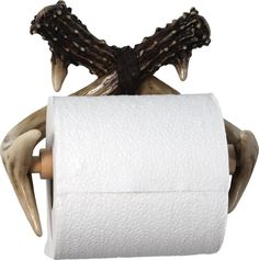 Deer Antler Toilet Paper Holder