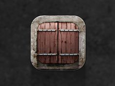 Wooden Shutters icon by Cody Sanfilippo