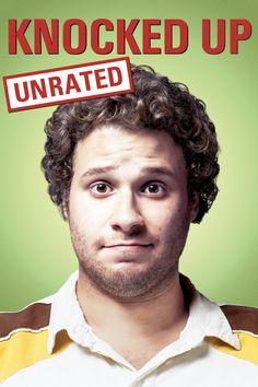 Knocked Up (Unrated) Movie Poster - Seth Rogen, Katherine Heigl, Paul Rudd  #KnockedUp, #Unrated, #SethRogen, #KatherineHeigl, #PaulRudd, #JuddApatow, #Comedy, #Poster, #Art, #Film, #Movie, #Poster