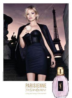 Yves Saint Laurent - Publicité Parfum - Parisienne - 2010