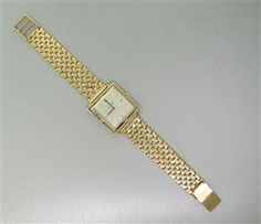 1970s Omega 14k Gold Watch Bracelet cal. 620. Available @ hamptonauction.com at the Fine Vintage and Modern Watch Auction on September 29th, 2014! Come preview our catalog!