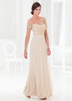 Mother of The Bride Dresses Scoop Sheath/Column Chiffon