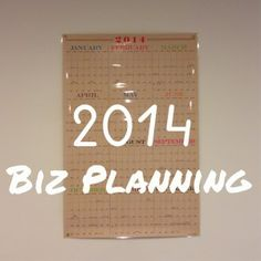 2014 Small Business Planning