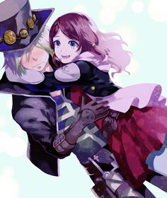 Tales of Zestiria Rose and Dezel