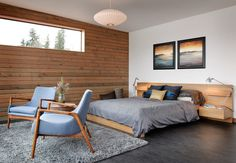 Malm    Dyna - Portage Bay - contemporary - bedroom - seattle - Dyna Contracting