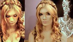 slavic hair and brocaded eyes <3  by Justyna Zastąpiło make-up and hair