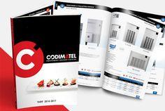 Conception catalogue CODIMATEL // Sofia Doudine Graphiste Webdesigner B2B Freelance