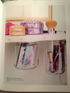 Storage for girly stuff