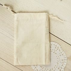 Bolsa de algodón 100%, 10 x 15 cm