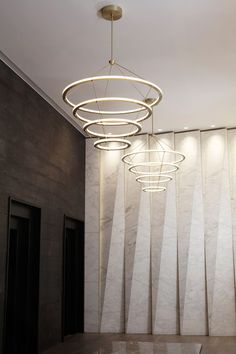 Halo chandelier 3 rings by Roll & Hill | General lighting | Architonic