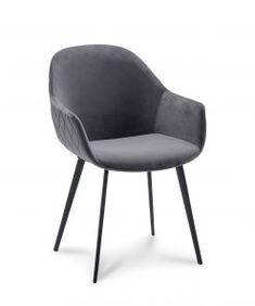 New Room, White Wood, Dining Chairs, Velvet, Living Room, Inspiration, Furniture, Home Decor, Grey