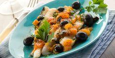 filetti di merluzzo con olive