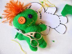 NimblePhish: Little Voodoo Doll Free Pattern
