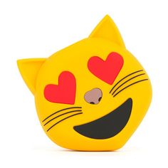 My design inspiration: Happy Cat Emoji Portable Charger on Fab.