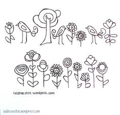 free hand embroidery pattern to download