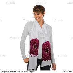 Chrysanthemum Scarf