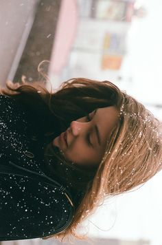 Cold days with snowflakes in your hair