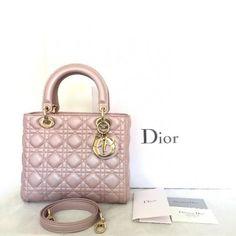 Dior Handbag (Soft Pink) - Shop it now at Designer-Vintage.com