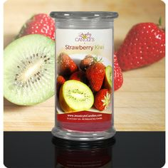 Savor every note of this refreshing scent! Ripe, juicy strawberries and fuzzy kiwi with hints of tangy tangerine balanced with peach blossom, jasmine, orchid and finished with light lavender and musk. A fruity and fun floral fragrance.