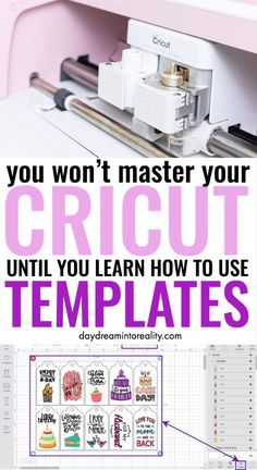 What are Templates in Cricut Design Space and How to use them?