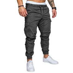 b12f1291d610 Men Joggers 2018 Spring New Brand Pants Men Clothing High Quality Long  Pants Elastic Male Trousers Mens Joggers. Pantalones Chinos HombrePantalon  ...