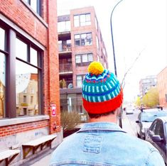 Colourful street beanie inspiration Knits, Beanie, Photo And Video, Knitting, Street, Inspiration, Color, Instagram, Fashion