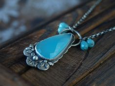 The Sky is Falling Necklace by MercuryOrchid on Etsy