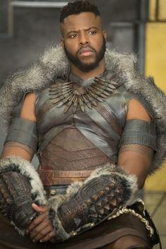 Winston Duke portraying M'Baku in Black Panther