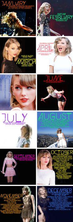 Taylor Swift's 2014