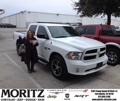 James Honeycutt was our salesperson, He was very helpful with the purchase of our new 2014 Dodge Truck. He went above & beyond what he needed to. He made our buying experience a real good one. We will definitly be using this dealership for our next vehicle.Hopefully James will still be here when the time comes!Merry Christmas to us!!! - Glenn Helfin, Wednesday, December 31, 2014 http://www.moritzchryslerjeep.com/?utm_source=Flickr&utm_medium=DMaxxPhoto&utm_campaign=DeliveryMaxx