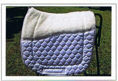 Large half fleece, showing underside