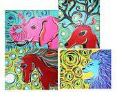 Custom Animal Paintings! :D