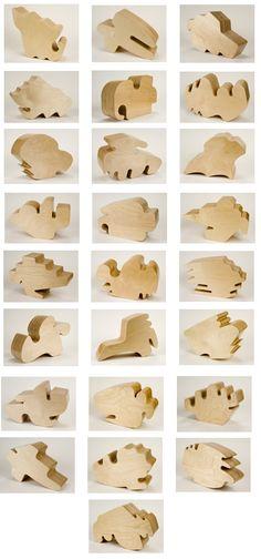 Allan McCollum | Shapes | 2005/2006 | Laminated birch plywood