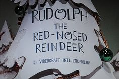 Rudolph the Red-Nosed Reindeer is a 1964 Christmas stop motion animated television special produced by Videocraft International, Ltd. Christmas Tv Shows, Christmas Past, Retro Christmas, Little Christmas, Christmas Movies, All Things Christmas, Christmas Specials, Christmas Classics, Christmas Photos